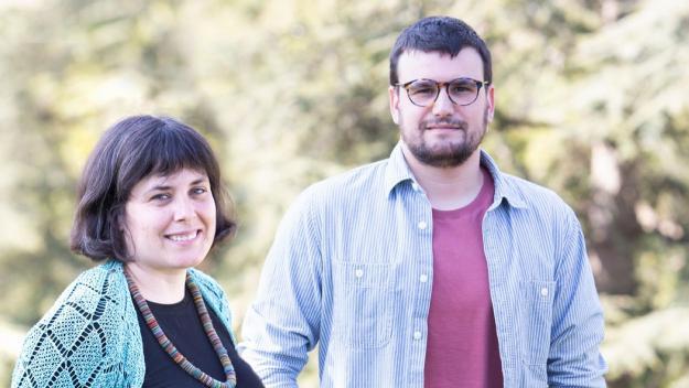 Ramon Gutiérrez i Aina  Balada, coordinadors dels comuns a Sant Cugat / Foto: Sant Cugat en Comú