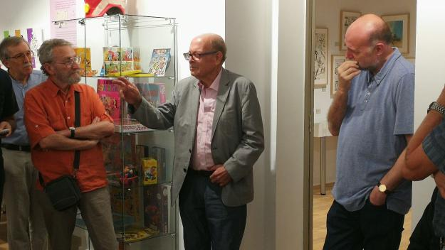 Francisco Ibáñez reivindica la cultura del còmic a Sant Cugat