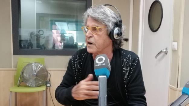 Raffel Pagès, a l'estudi Ramon Barnils / Foto: Cugat Mèdia