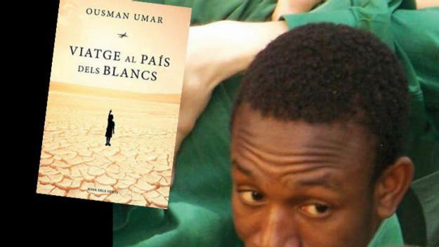 Ousman Umar presenta el llibre 'Viatge al país dels blancs', inspirat en l'experiència personal