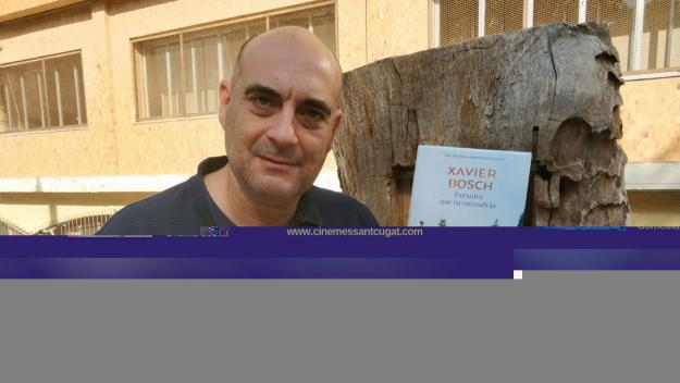 Xavier Bosch acaba de publicar 'Paraules que tu entendràs' / Foto: Cugat Mèdia