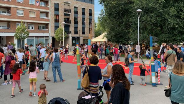 La programació s'ha inaugurat amb una festa als Jardins del Monestir / Foto: Cugat Mèdia