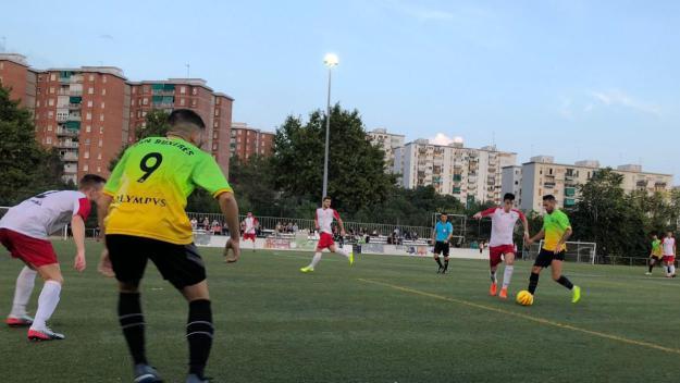 Imatge del partit entre el SantCu i el Can Buxeres / Font: SantCu
