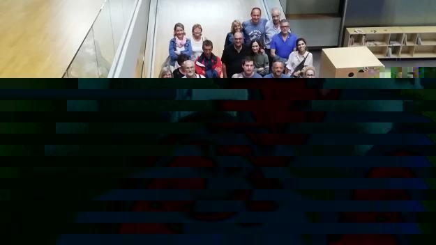 Imatge de la recepció de l'alcaldessa, Mireia Ingla, als participants de la Transeines / Font: Cugat Mèdia