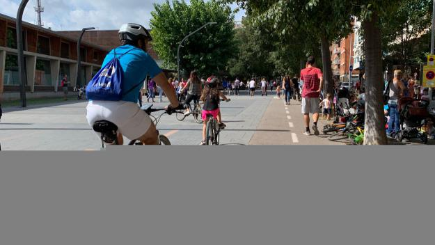 La Setmana de la Mobilitat Sostenible es fa notar als comptadors de bicicletes de Sant Cugat