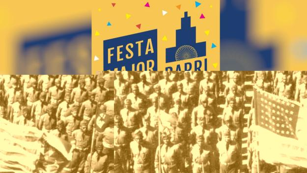 Cartell de la Festa Major del barri del Monestir