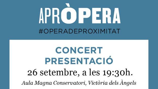Concert de presentació de l'associació AprÒpera