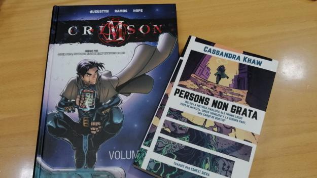 Una novel·la negra de detectius i un còmic de vampirs, dues propostes dirigides al món friki
