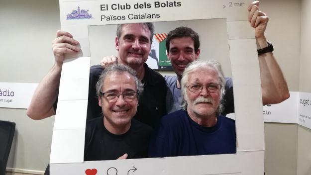 El grup musical Jordi Santamaria i els Meridians presenta nou disc a 'El Club dels Bolats'