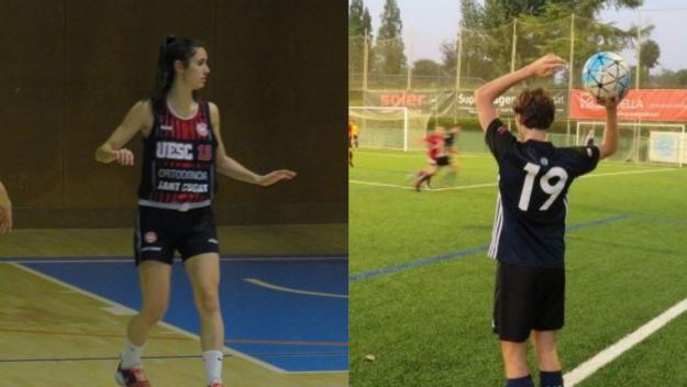 UESC i Atlètic Junior, els protagonistes / Foto: Cugat Mèdia