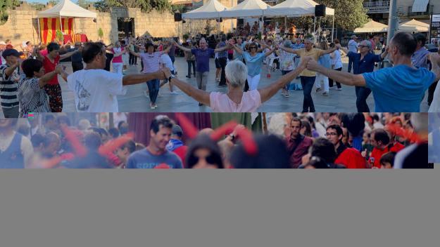 L'Aplec de la Sardana torna a omplir la plaça d'Octavià de tradició catalana