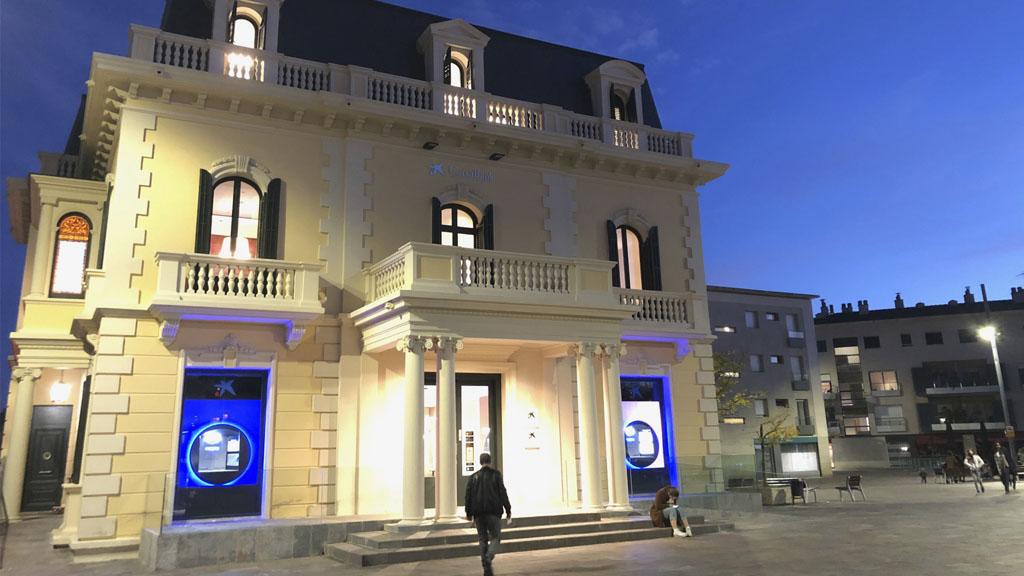 CaixaBank obre l'oficina de la Casa Maristany