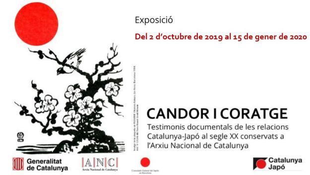 Exposició: 'Candor i coratge. Testimonis documentals de les relacions Catalunya-Japó al segle XX'