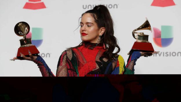 Rosalia ha recollit dos Grammy llatins per 'Malamente' / Foto: ACN