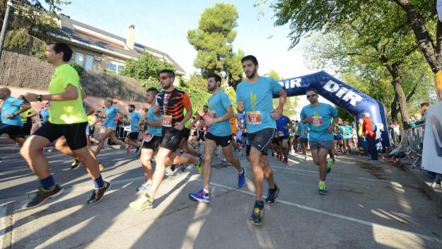 Imatge d'una edició anterior de la cursa / Foto: Localpres