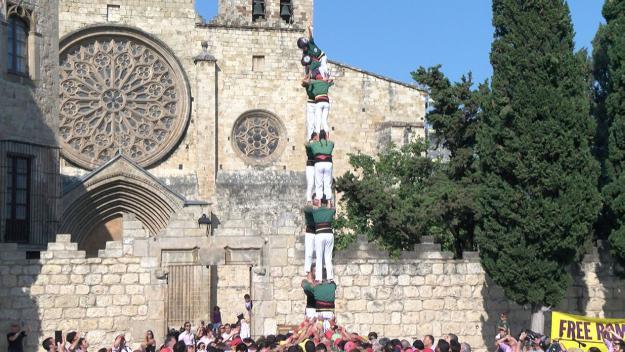 Diada castellera dels Gausacs