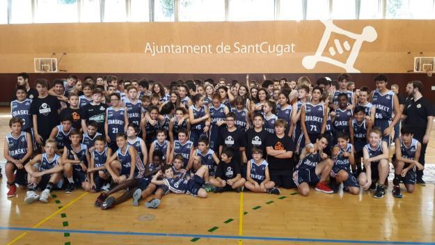 Imatge de la presentació del Qbasket Sant Cugat / Font: Cugat Mèdia