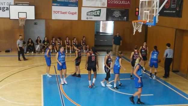 La UESC femenina ha perdut davant el Cornellà / Font: UESC