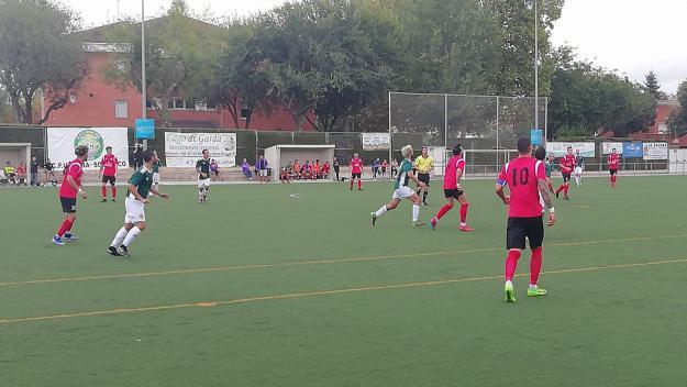 El Valldoreix empata sense gols amb l'Atlètic Vilafranca i continua a la part alta