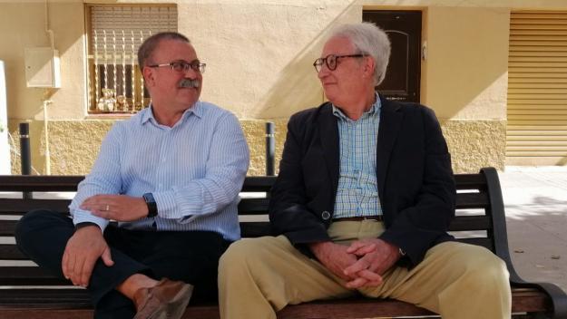 Ferran Felius i Lluís Godayol són dos dels impulsors de l'entitat / Foto: Cugat Mèdia