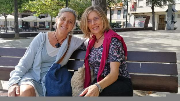 Miriam Morales, psicòloga clínica (Mútua de Terrassa) i Cristina Ruiz, psicòloga clínica de Teknon / Foto: Cugat Mèdia