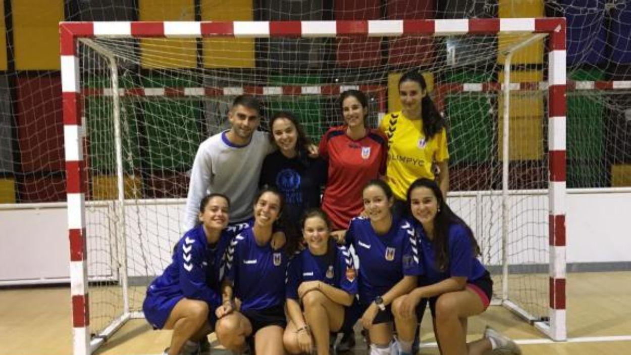 Imatge de l'equip femení de l'Olímpyc Floresta / Font: Olímpyc Floresta