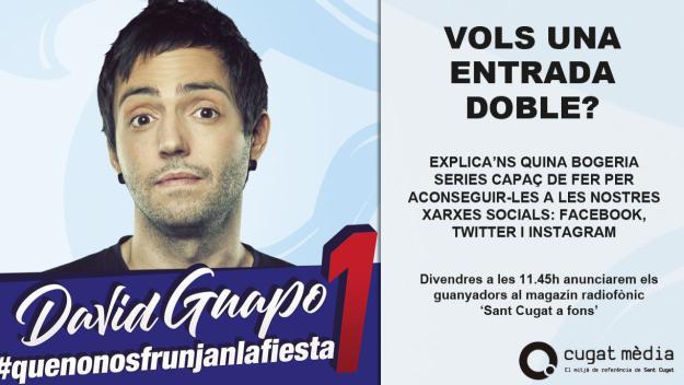 Participa al concurs a través del Facebook, Twitter i Instagram de Cugat Mèdia