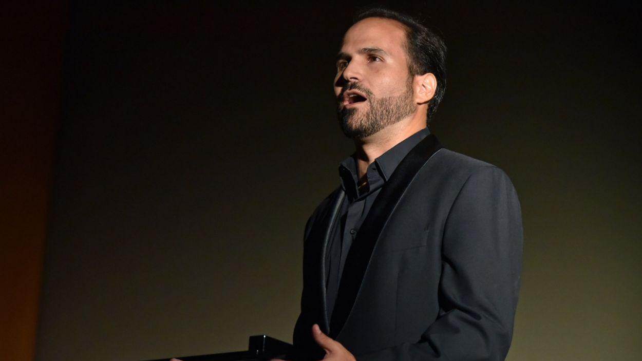 Marc Sala, durant una xerrada / Foto: Toni Bofill