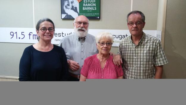 Elisa Martí, Eduard Jener, Montse Maranges i Ferran de Juan / Foto: Cugat Mèdia