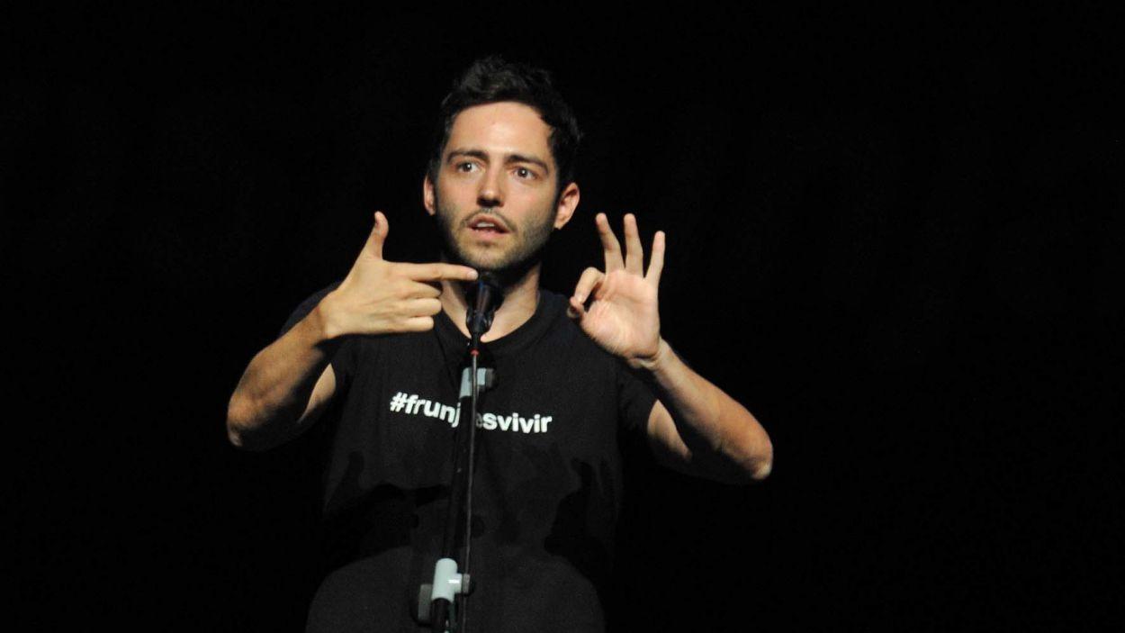 David Guapo, en una actuació a Sant Cugat / Foto: Teatre-Auditori