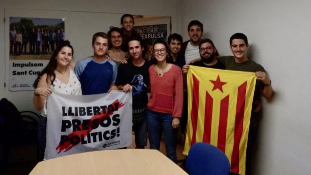 La nova executiva de les joventuts / Foto: Twitter Jovent Sant Cugat