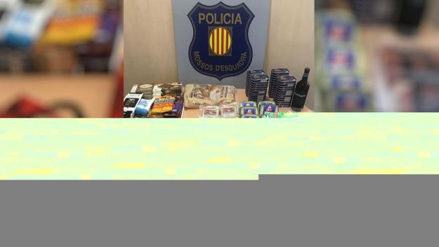 Material incautat per la policia catalana / Foto: Mossos