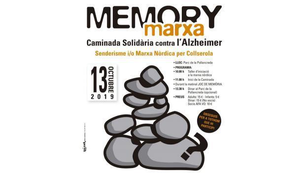 'Memory Marxa': Caminada solidària contra l'Alzheimer