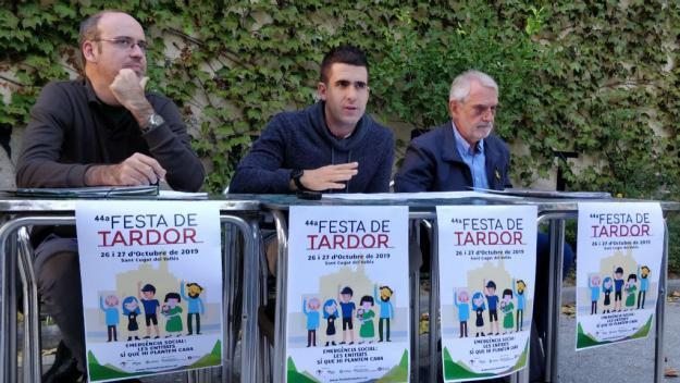 La celebració de la Festa de Tardor el proper cap de setmana, pendent de la decisió de l'assemblea