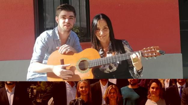 Pol Vivas i Anna Luna han cantat en directe al 'Sant Cugat a fons' / Font: Cugat Mèdia