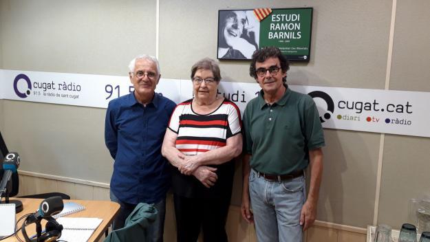 L'exregidora Maria Sansa visita el 'Converses consentides'