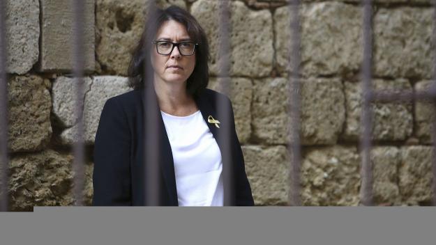 Diana Riba, eurodiputada i dona de Raül Romeva / Foto: Lluís Llebot