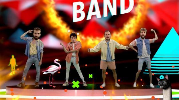 Un fotograma d'el videoclip de 'Boy band'