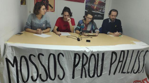 La roda de premsa ha tingut lloc a la seu d'ERC / Foto: Cugat Mèdia