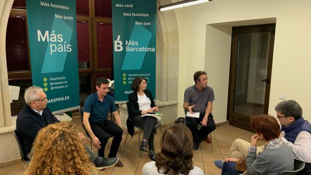 D'esquerra a dreta: Javier Luna, Juan Antonio Geraldes, Berta Ballester i Tomás Herreros / Foto: Cugat Mèdia