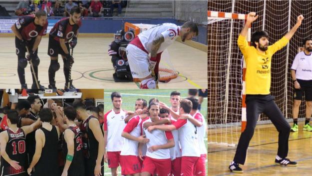Els protagonistes de la jornada esportiva / Foto: Cugat Mèdia