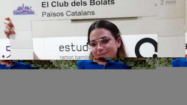 Aiala a 'El Club dels Bolats' / Foto: Cugat Mèdia
