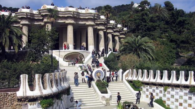El Park Güell, d'Antoni Gaudí / Foto: Creative Commons (CC BY-SA 3.0)