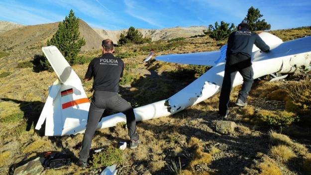 Mor un santcugatenc en l'accident d'un planador a la Cerdanya