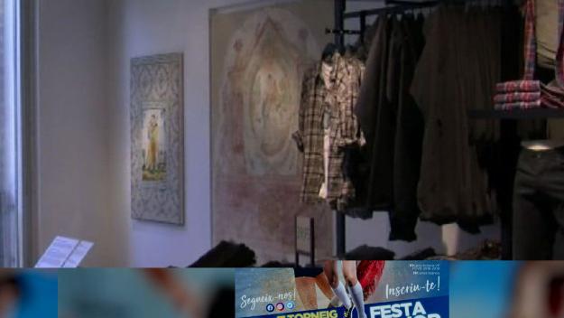 Les dues peces es troben al segon pis de la botiga / Foto: Cugat Mèdia
