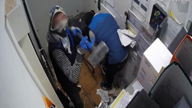 Imatge d'un dels robatoris / Foto: Mossos d'Esquadra