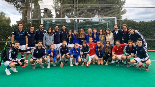 L'inici de competició dels primers equips del Junior, entre l'actualitat destacada / Foto: Hockey Junior