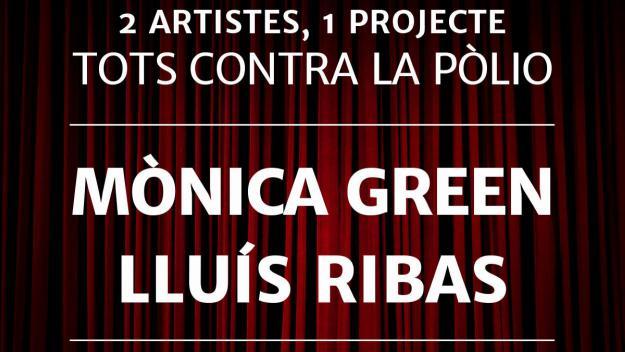 Lluís Ribas i Monica Green s'uniran per recaptar fons per la pòlio