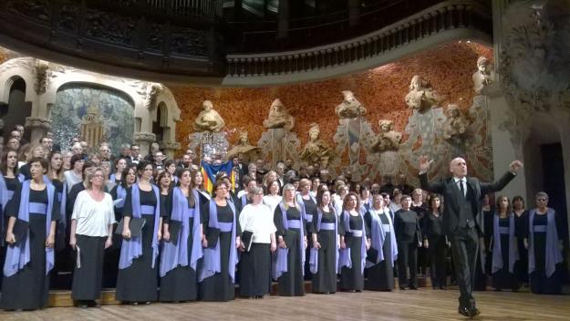 Orfeò català al Palau de la Música / Font: Viquipèdia