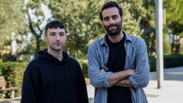 Pere Sala, SPXXN P, i Jordi Vidal / Foto: Guillem Babitsch (Cugat Mèdia)